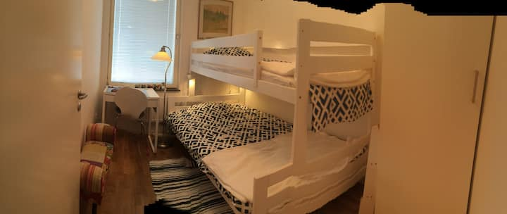 Room available direct proximity to Friends Arena