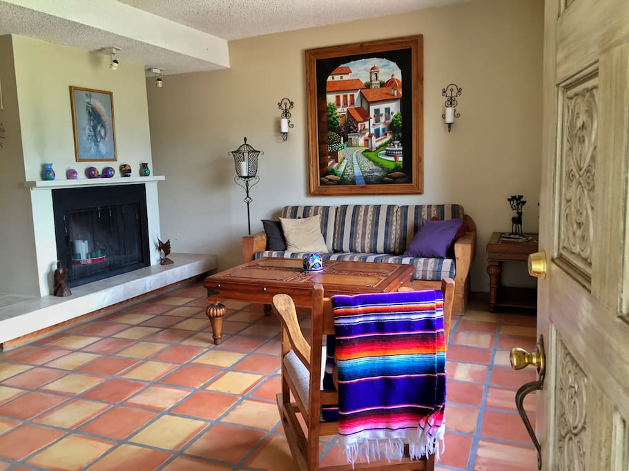 Mexican-style Living Room