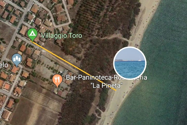 """""""Da Caterina"""" ..... just 300 meters from the sea"""