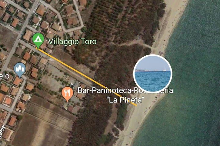 """""""Da Caterina"""".....a soli 300 mt dal Mare"""