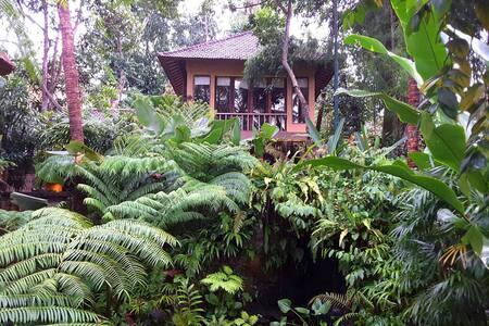 Private river valley suite- Cempaka - Ubud