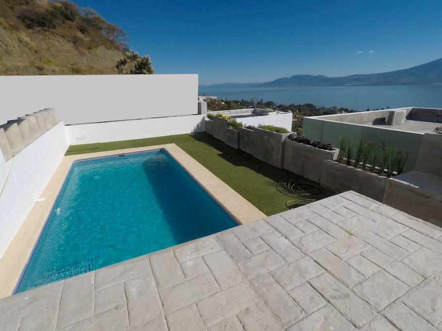 Alberca con calefaccion |   Swimming pool with heating system