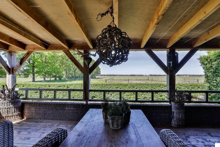 Guesthouse La Bria met fantastisch uitzicht!
