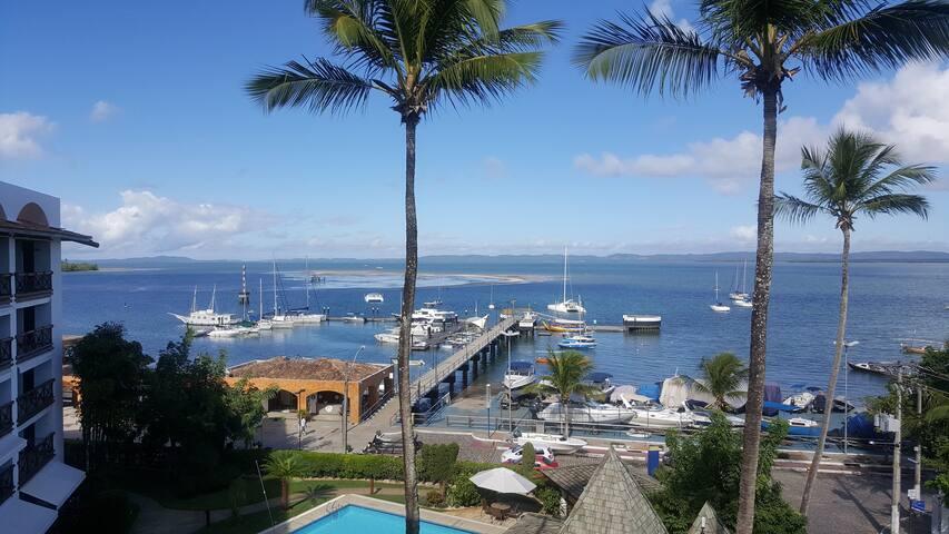 Flat em Frente ao Mar na Ilha de Itaparica