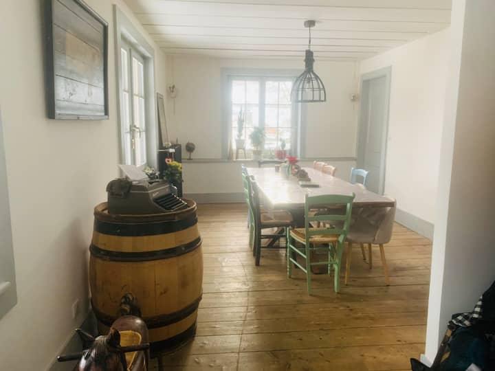 Ancienne ferme de 1621 rénovée