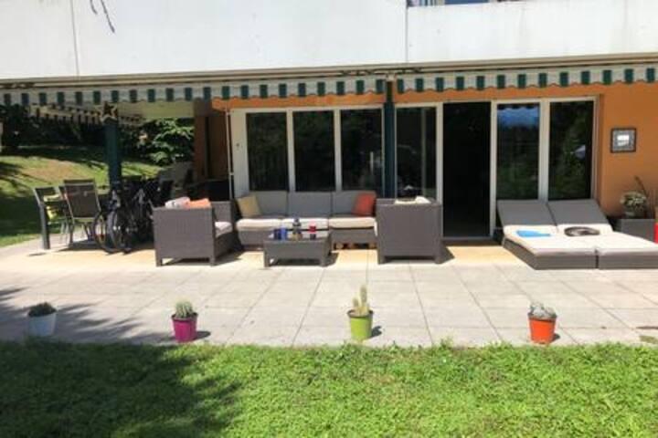 Proche EPFL/UNIL/STCC et du lac ,Parking gratuit