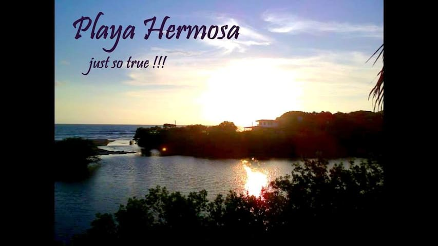 Playa Hermosa, just so true - León - Rumah