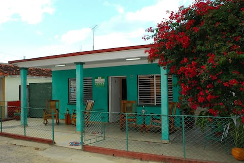 Casa Mirita y Orlando en La Colchoneria con wifi.