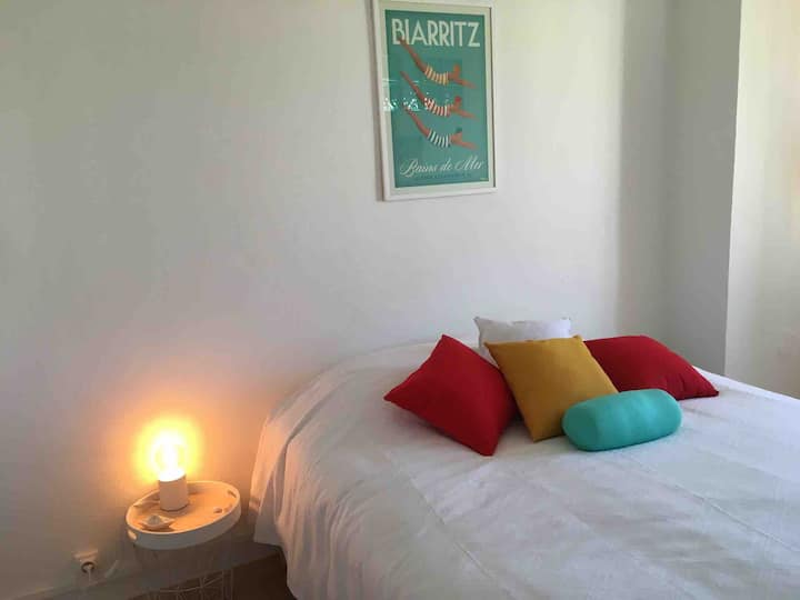 Appartement refait à neuf triangle d'or Biarritz