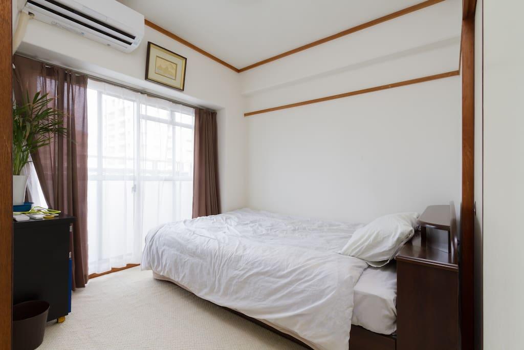 洋室① Bed 1500×2000mm