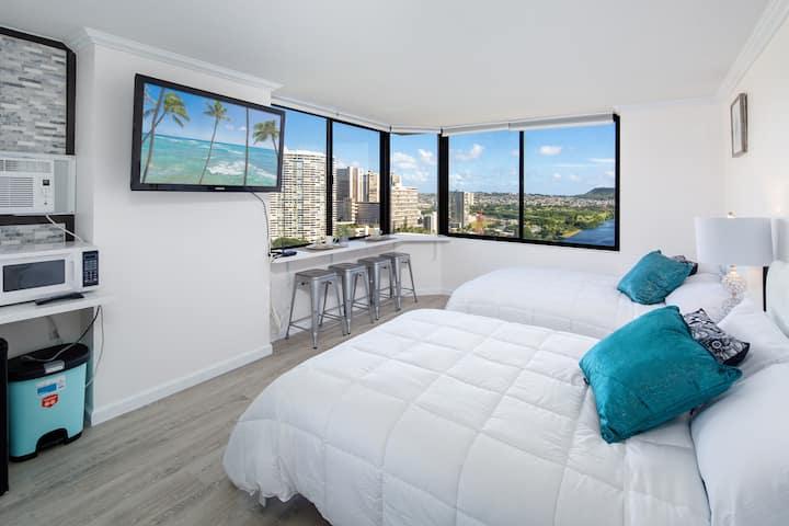 Prime Corner Studio 2 Beds Amazing Views