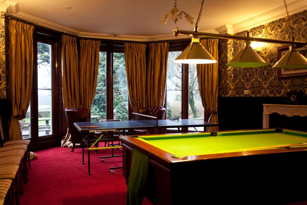 have fun in the games room,