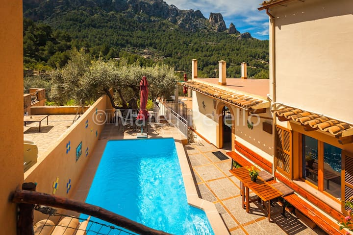CaT: Amazing apartment with pool - Cala Tuent - Daire