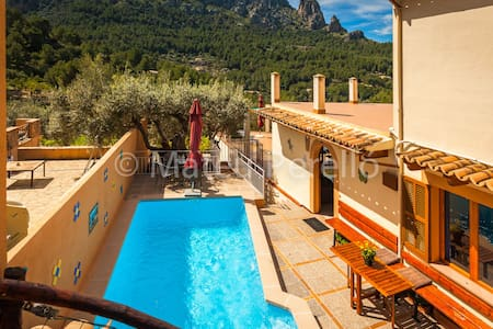 CaT: Amazing apartment with pool - Cala Tuent