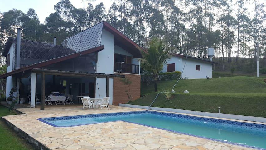 Chácara ideal - Feijoada, pizzada ou Barreado - Campo Limpo Paulista - Бунгало