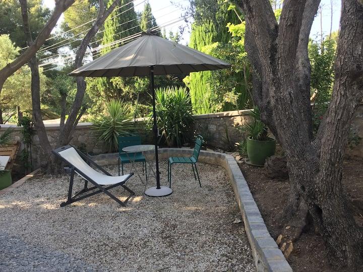 La chambre aux oliviers,piscine