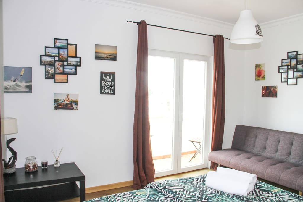 The room with own balcony