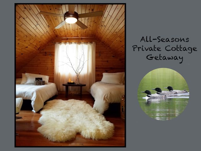 All-Seasons Private Cottage Getaway