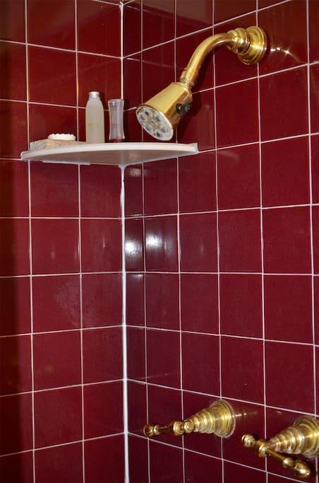 Private shower