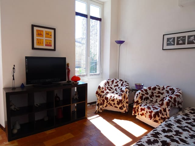 Gîte Muscat, près de mer, un appartement sympa - Florensac - Leilighet