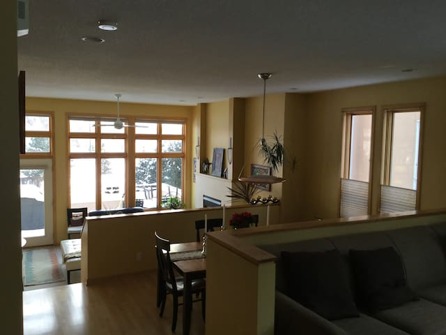 Executive Townhome with heated garage