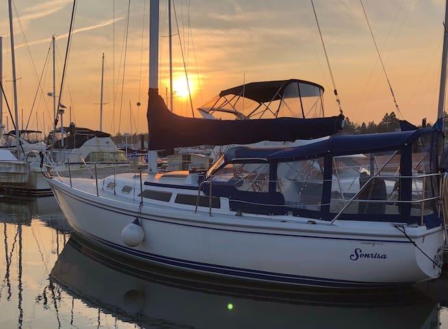 Cozy Sailboat: Sleep On The Water