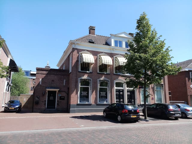 B&B de Notaris gelegen in het centrum van Assen.