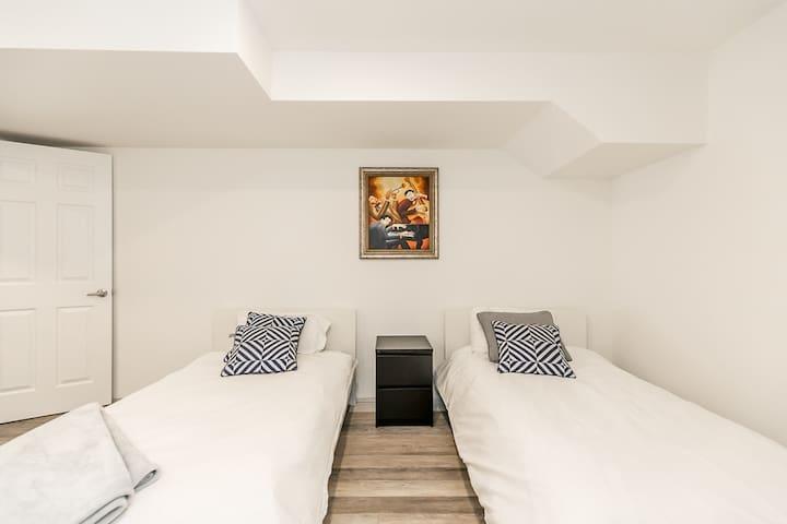 Bedroom 4. Basement