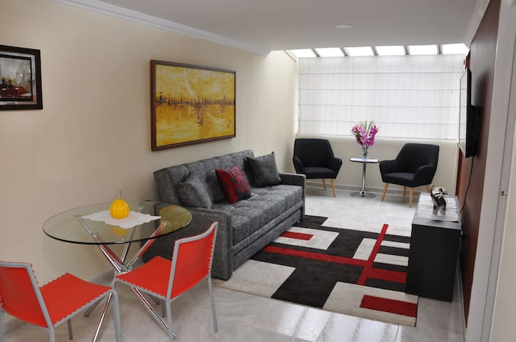 Amazing bright one bedroom in Bogota