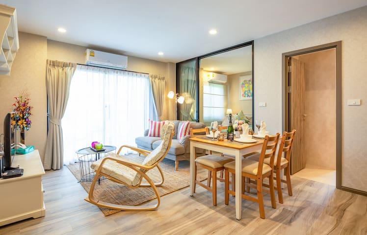 2 Bedroom Modern Apartment @Nai Yang beach–250m