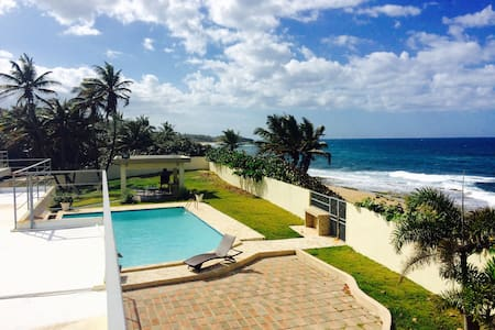 Casa Mirador del Indio - Direct Beach Access - Arecibo - Rumah