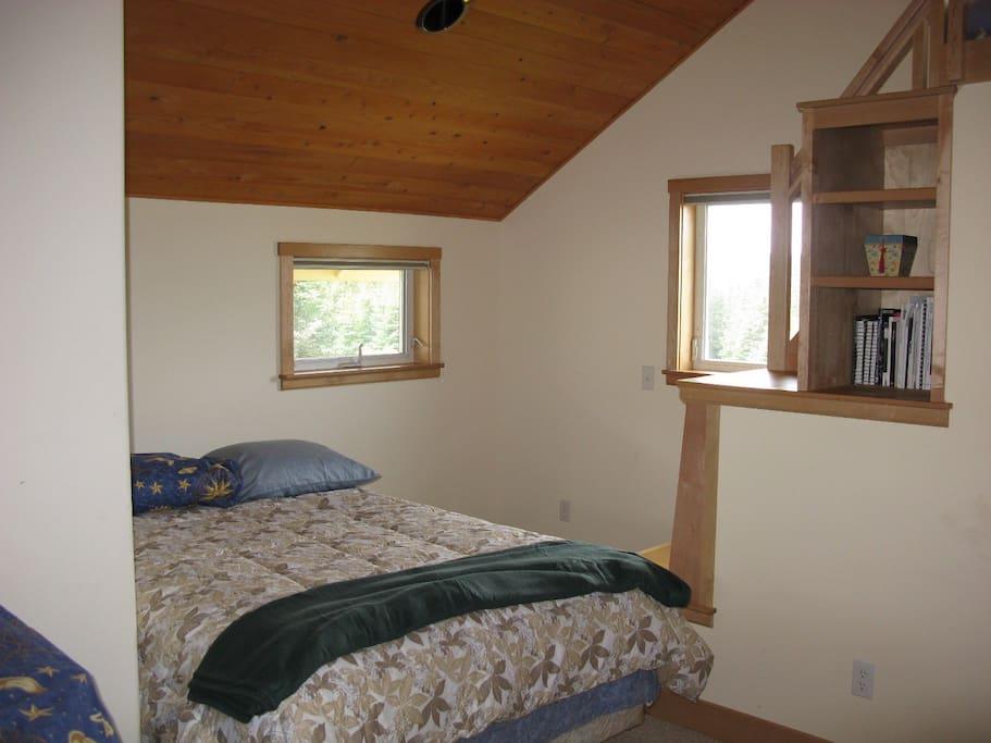 Bedroom 1 also has sleeping loft