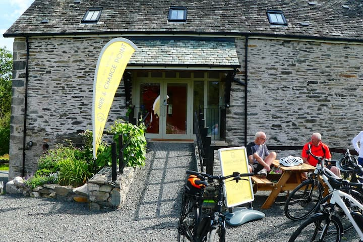 Witherslack Cycle Barn, Bunk House - Room 1