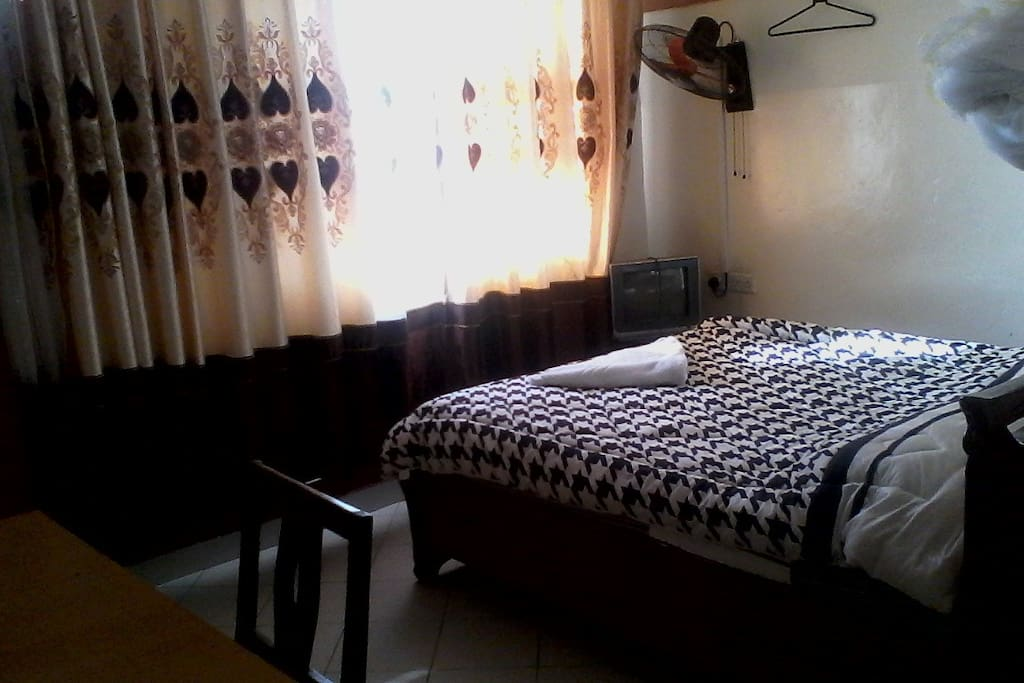 King double bed