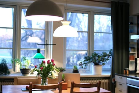 Frogner apartment with a view to Vigelandsparken. - Oslo