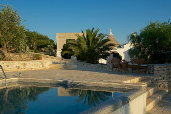 Trullo Alto country villa with pool - Chiobbica - Vila