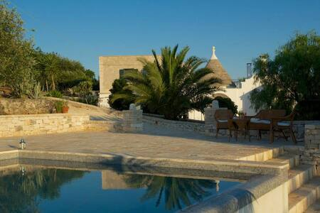 Trullo Alto country villa with pool - Chiobbica