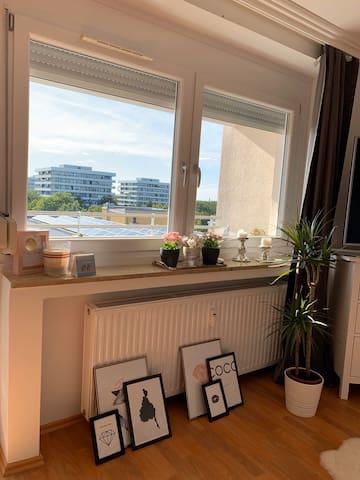 Sehr helle und schöne Wohnung im Münchner Osten