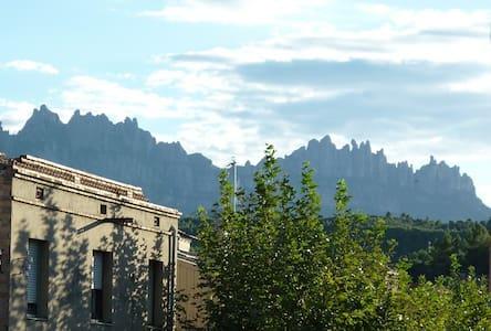 Acogedor apto. cerca Montserrat.BCN - Sant Vicenç de Castellet