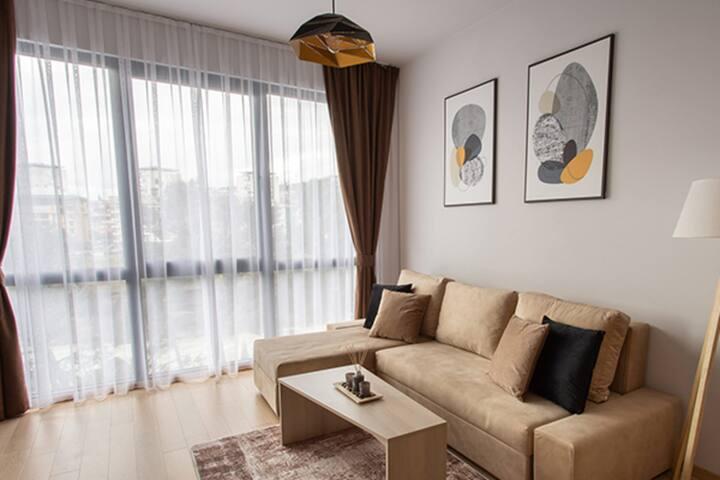 LINA - PG, Moraca River Apartment