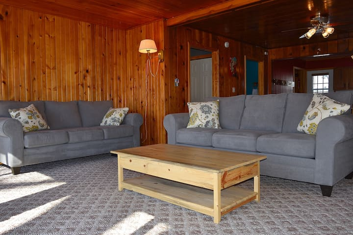 Tastefully decorated and well maintained, the Lake Odessa Beach Cottage is the ideal getaway.