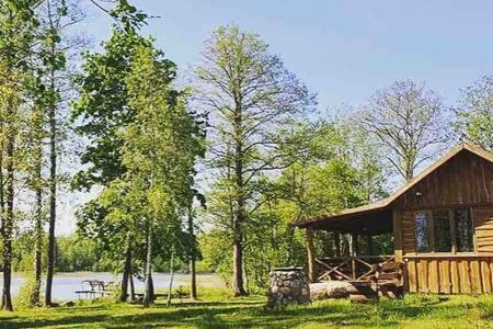 Tiny cabin 'Vasara' in ecological farm Kemešys