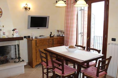 Appartamento in montagna panoramico - Roccacinquemiglia - Apartamento