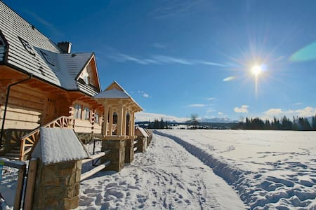 Beautiful wooden, countryside holiday house. - Dzianisz - House