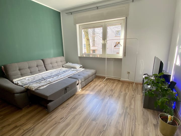 room in central Wiesbaden (uptown)
