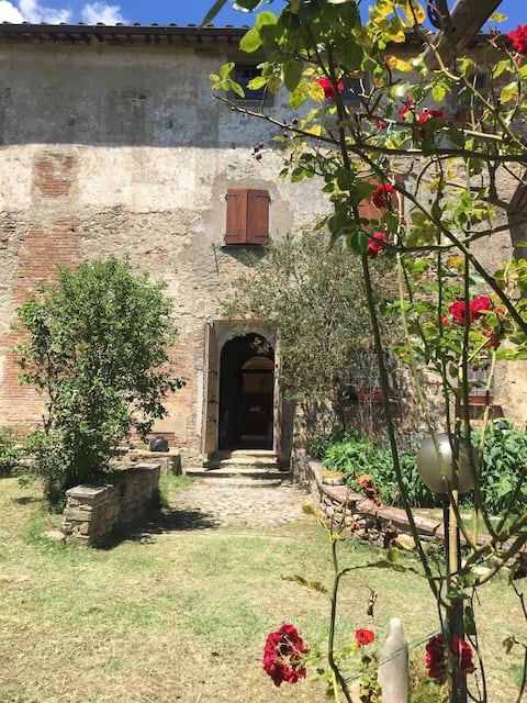 App. con ampio giardino in ex Monastero del 1360