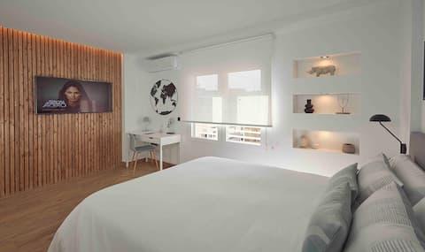 Suite de diseño en el centro de Alicante.
