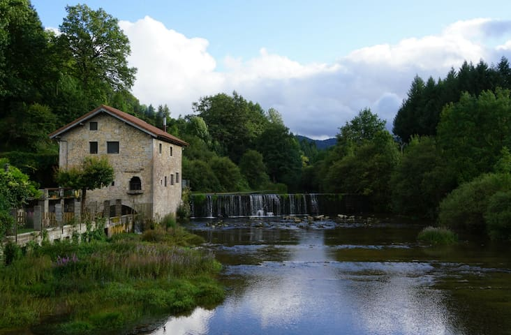 Holiday cottage on an old mill: El Molino de Alli