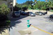 Parking privado/Private parking