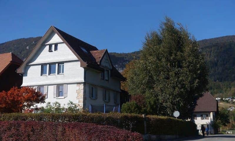 Wohnung mit Alpensicht